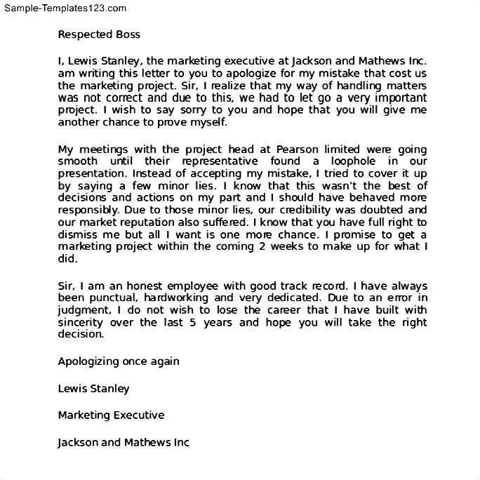 How to write a Apology Letter - Tips for Writing a Apology Letter - letter of apology sample