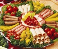 Meat and Cheese Tray Ideas | meat cheese tray serves 20 24 ...