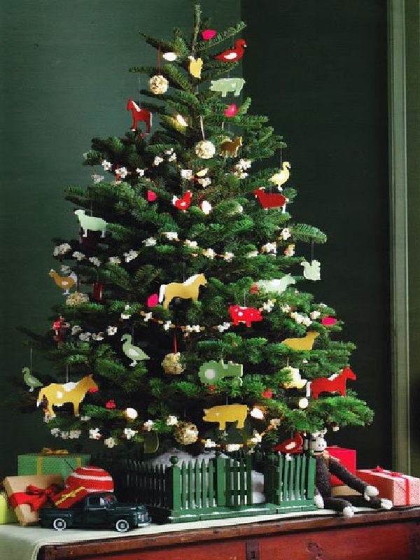 Small Christmas tree for kids room decorating ideas Christmas - small decorative christmas trees