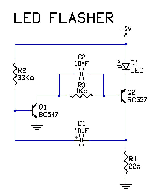 simple led circuit techdosecom