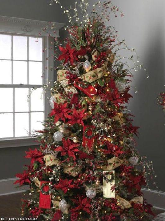 Beautiful Christmas Trees Decorating Ideas Pictures Christmas - beautiful decorated christmas trees