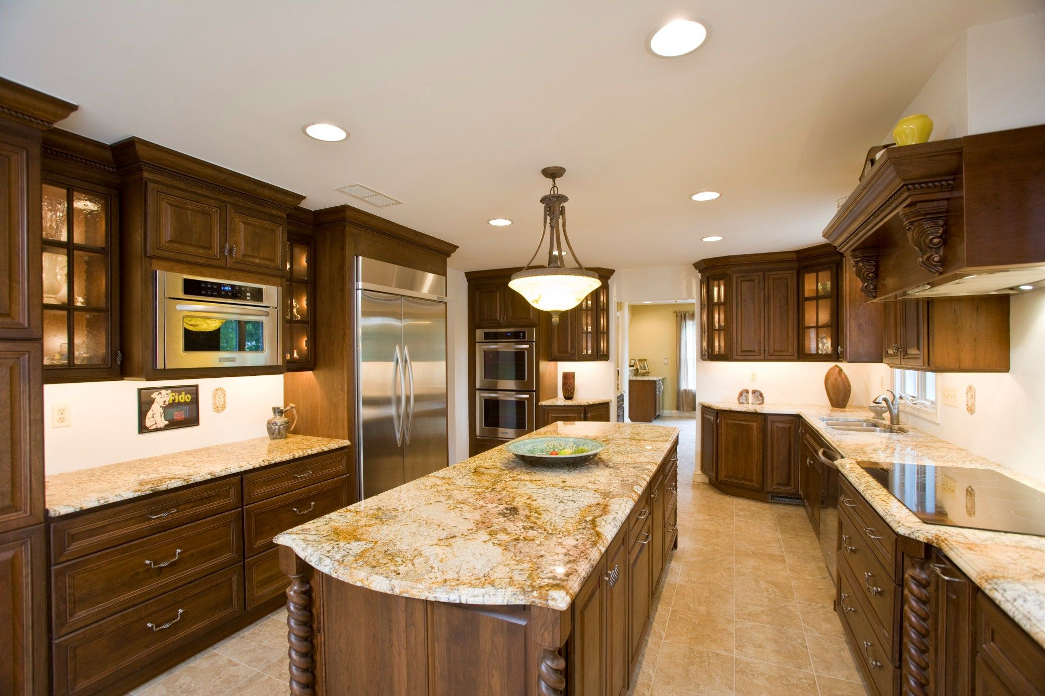 What Color Countertops Go With White Cabinets Oak 43cabinets 43and 43white 43granite 43counters Granite