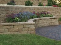 retaining wall ideas   Retaining Wall and Freestanding ...