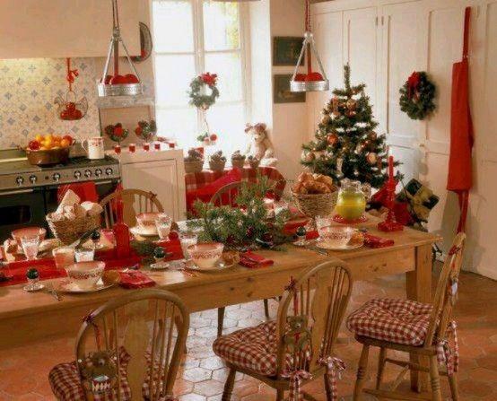 40 Cozy Christmas Kitchen Décor Ideas DigsDigs Christmastime - christmas kitchen decor