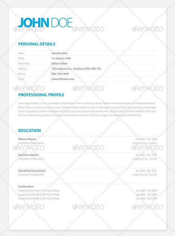 Clean Elegant Resume Samples Design YEAH! Pinterest Resume - clean resume templates