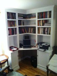 Corner+Built+in+Desk+Ideas | built in corner office desk ...