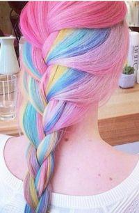 Gefarbte haare pink  Modische haarschnitte und haarfrbungen