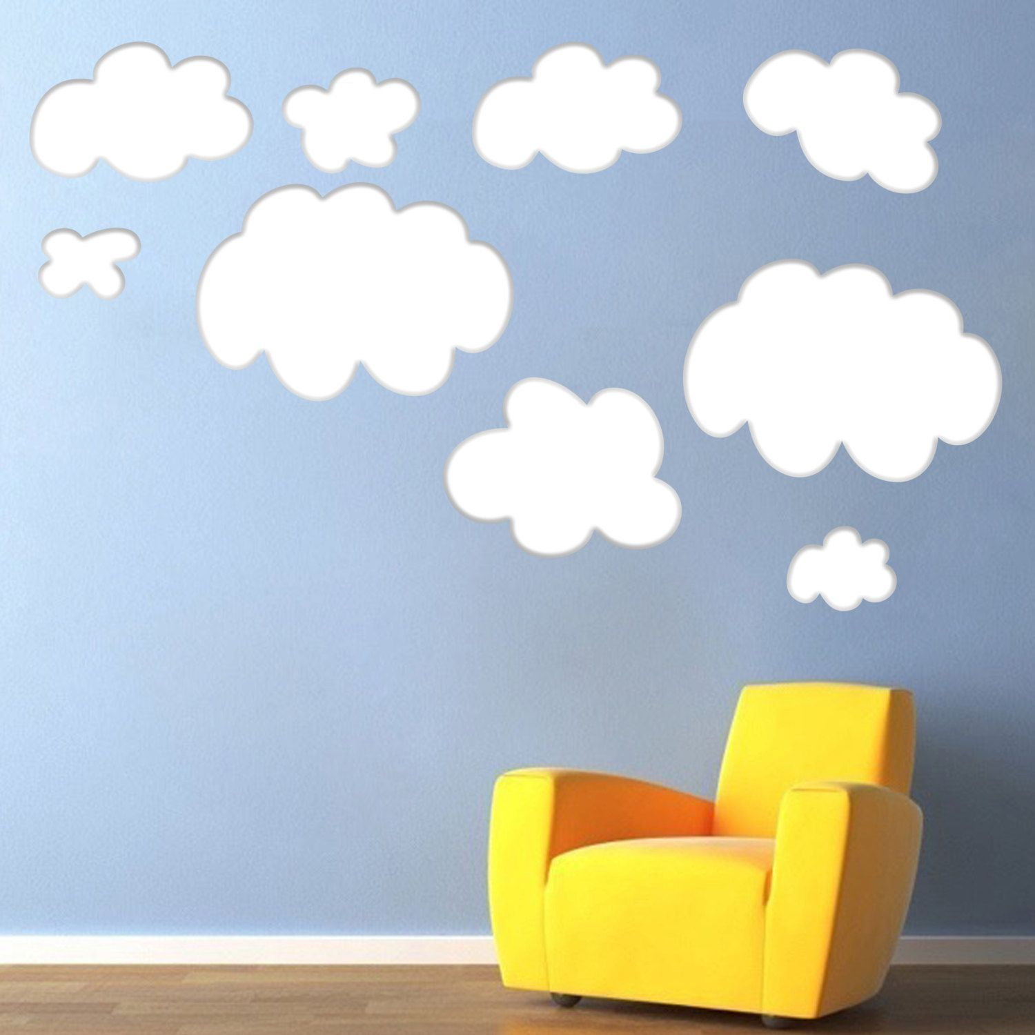 Cloud Wallpaper For Bedroom Bedroom Cloud Decals Cloud Wall Art Design Cloud Wall