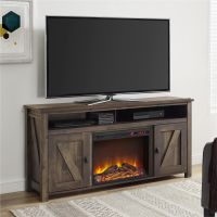 Farmington Electric Fireplace TV Console for TVs up to 60 ...