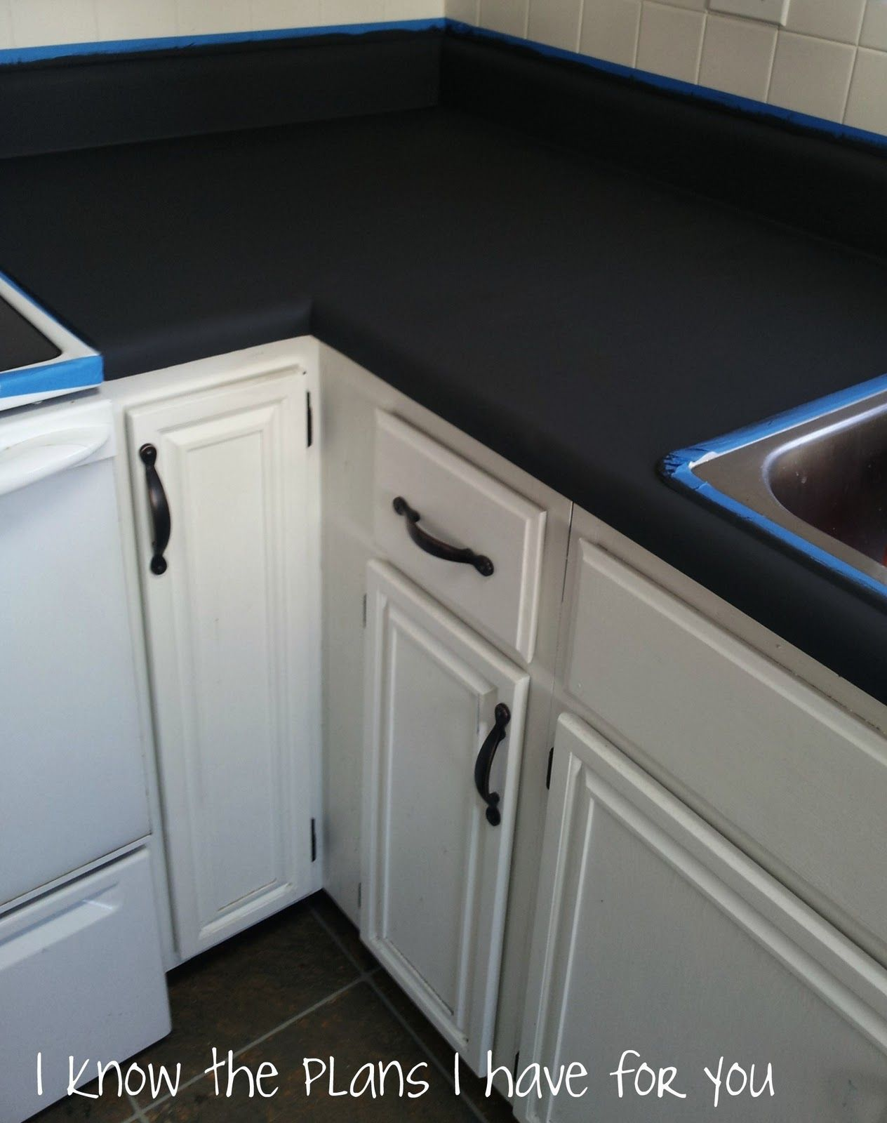 Can You Paint Corian Countertops Diy How To Paint Kitchen Countertops Lots Of Tips On