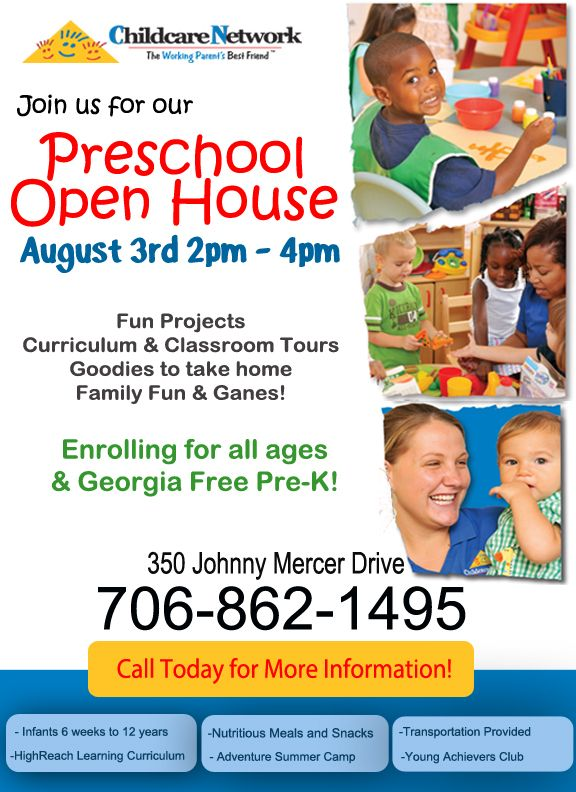 Full-time-daycare-flyer Childcare advertising Pinterest - daycare flyer