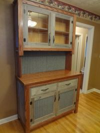 I made this with Recycled barn wood and tin from an old ...