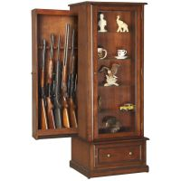 Hidden Gun Curio Cabinet | Concealment furniture ...