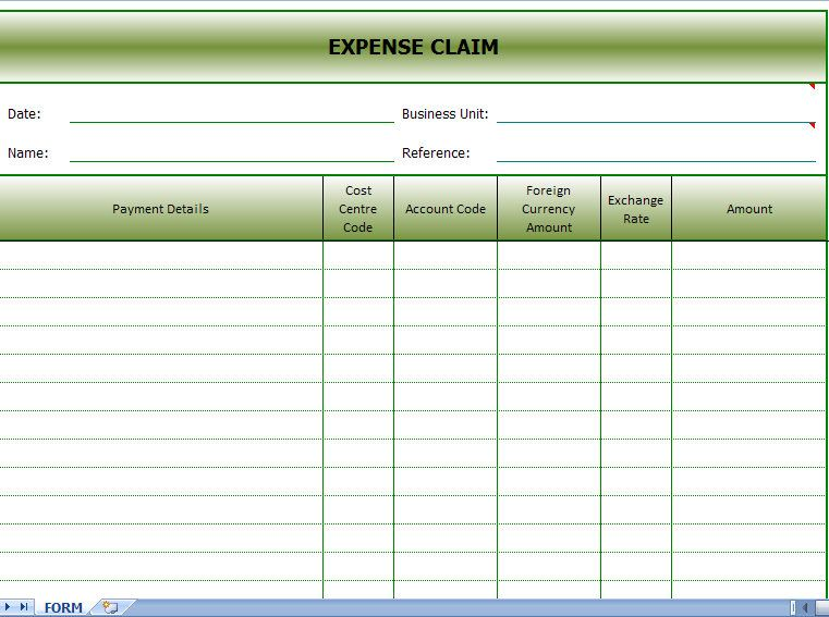 Expense Sheet Template This Google Spreadsheet Budget Template - basic expense report template