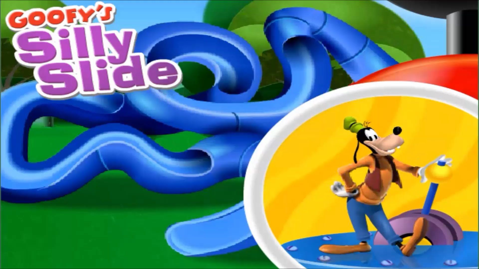 Giochi Mickey Mouse Mickey Mouse Clubhouse Goofy 39s Silly Slide Goofy 39s