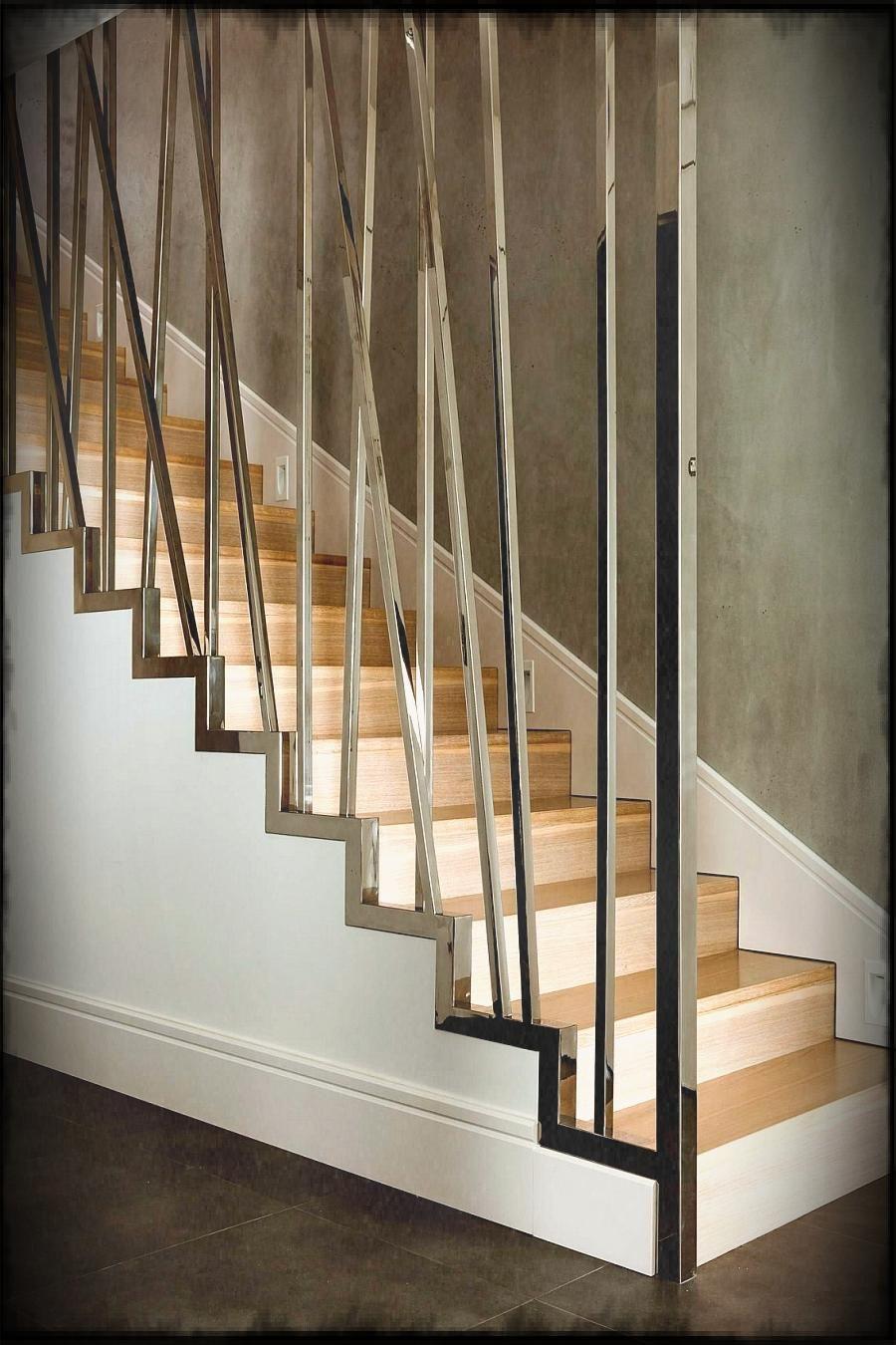 Modern Stair Railing. Simple Modern Stair Railing Images