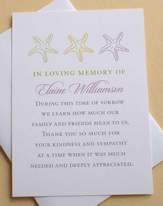 Let me create a custom sympathy thank you card for you The last - invitation for funeral ceremony