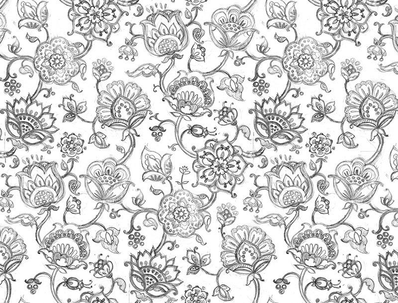 Image Result For Norwegian Rosemaling Coloring Pages