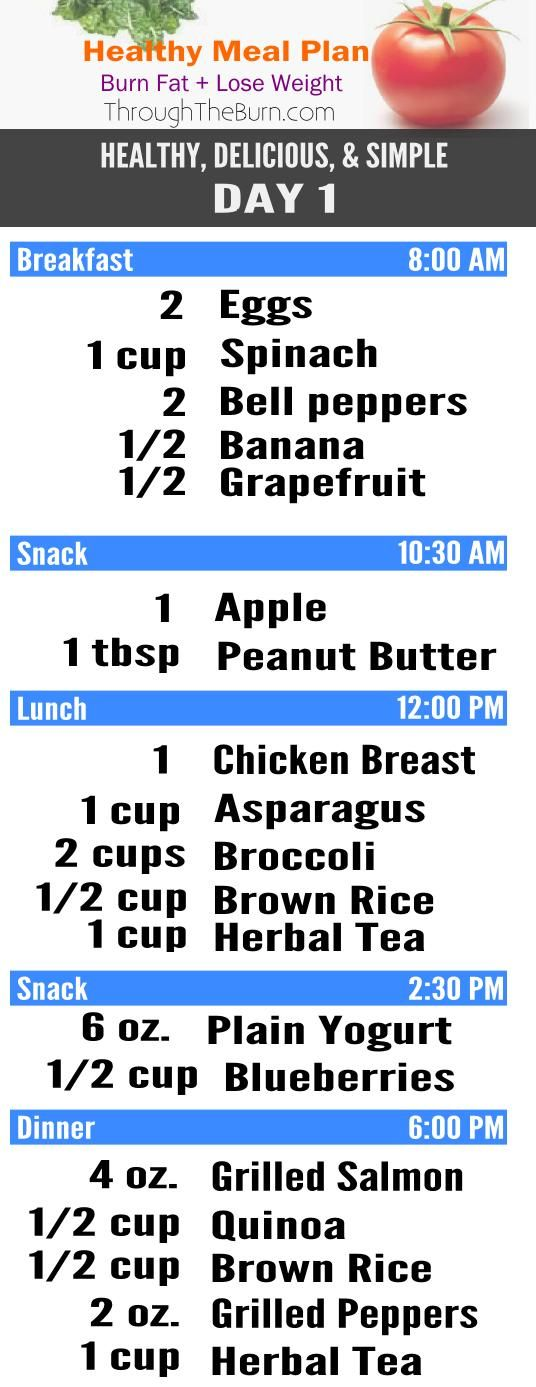7 Easy Ways to Lose Weight Fast and Keep It Off Lost weight - healthy meal plan