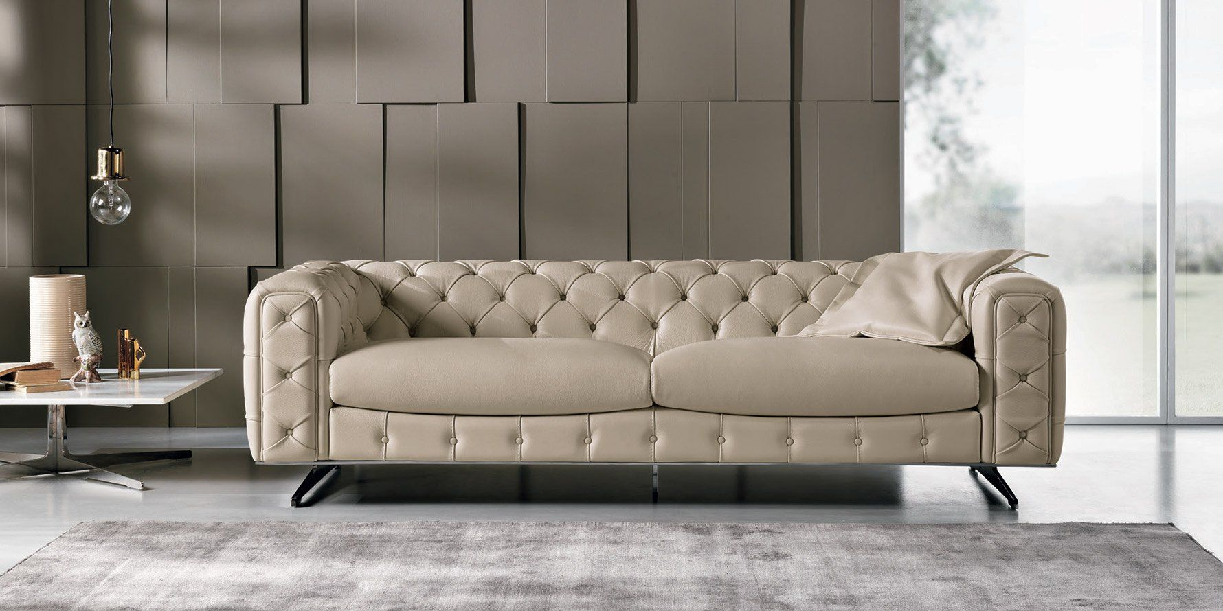 Italian Sofa Auckland The Ingrid Sofa And Loveseat From Max Divani Italy Tufted