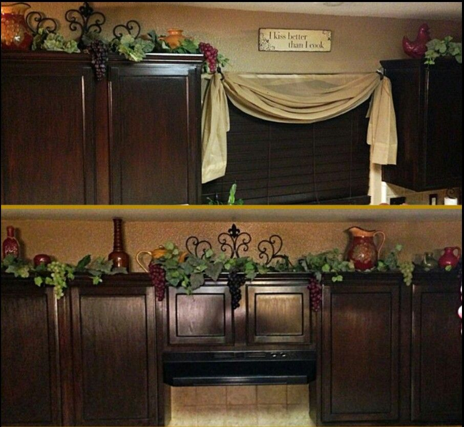 vine for cabinets wine theme ideas for my kitchen Home Decor - wine themed kitchen ideas