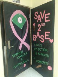 Breast Cancer Awareness Door Decorating Contest   Math ...