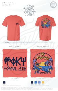 Phi Kappa Psi | Formal T-Shirt Design | Tropical T-Shirt ...