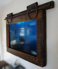Hanging Tv ,Barn Door Style | dream house | Pinterest ...