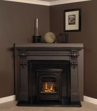 Corner Fireplace Mantels Wood | Fires of Tradition ...