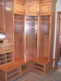 The Beautiful Mudroom Cabinets under Your Stairs | Acordco ...