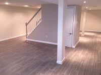 Loving my Basement!!. Modern clean Shades of grey. Grey ...