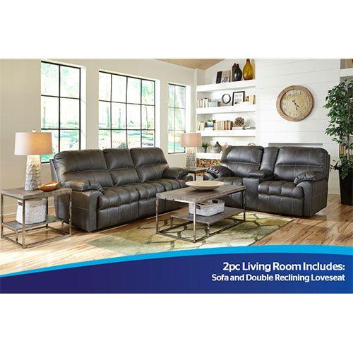 Woodhaven 2pc Liberty Sofa and Motion Loveseat Joann Pinterest - 7 piece living room set