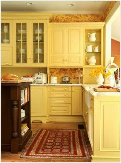 17 Best Images About Pretty Yellow Kitchens On Pinterest   Yellow