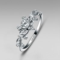Mickey Inspired Sterling Silver Women's Ring Little Finger ...