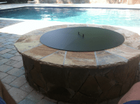 Pittopper - One Piece Metal Fire Pit Cover | Backyard ...
