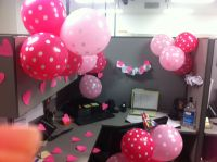 Cubicle birthday decoration | Cubicle decorations ...