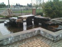 Above ground pond | Love This! | Pinterest | Cinder block ...