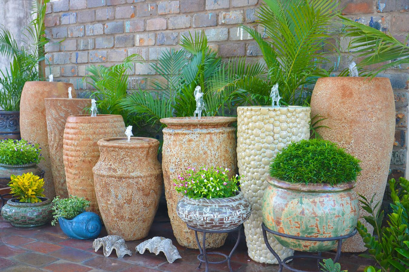 Big Flower Planters Wholesale Vietnamese Garden Pottery Large Pots Outdoor