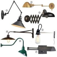 Bedside Essentials: Warm Industrial Wall Lamps | Wall ...