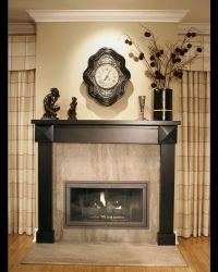 Decor Mantel Decorating Ideas Modern Decor With Statue And