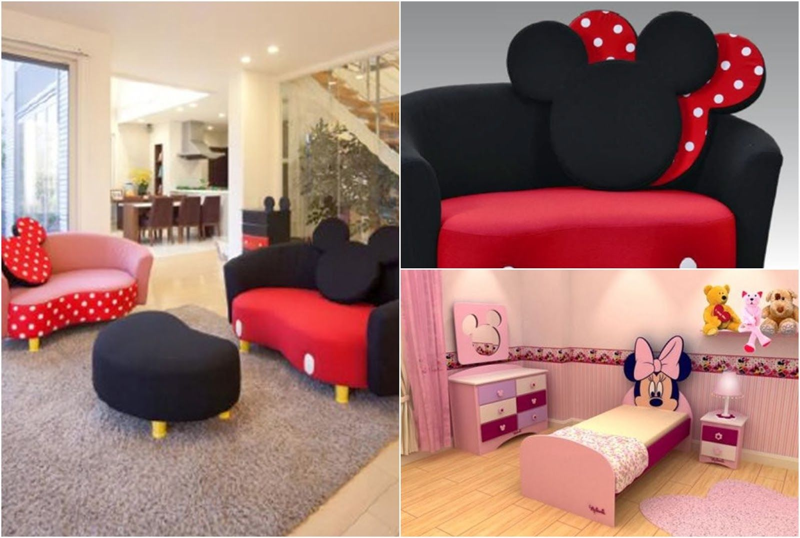 Dormitorio Barbie Dormitorio Temático Minnie Mouse By Artesydisenos Blogspot
