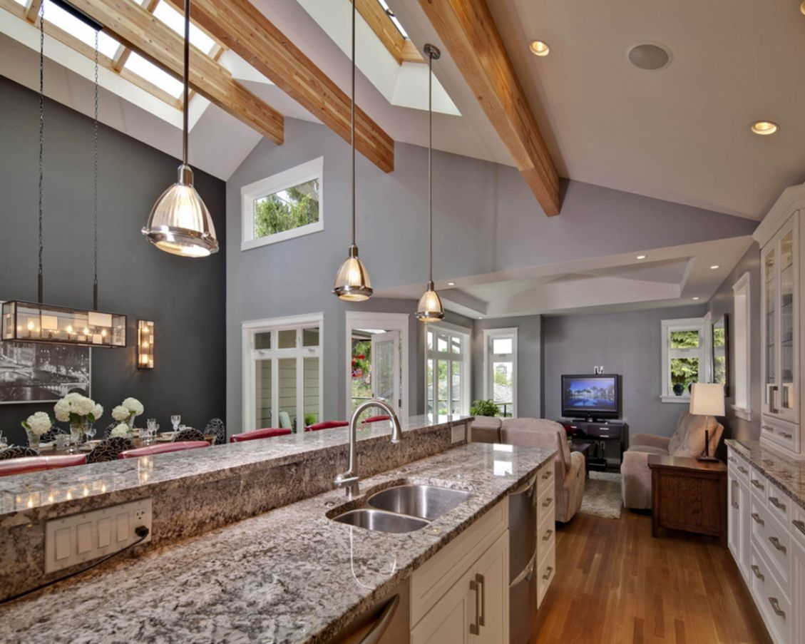 Kitchen Design Software B Andq 42 Kitchens With Vaulted Ceilings Skylight Ceilings And