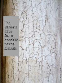 Paint Technique | Paint techniques, Crackle painting and ...