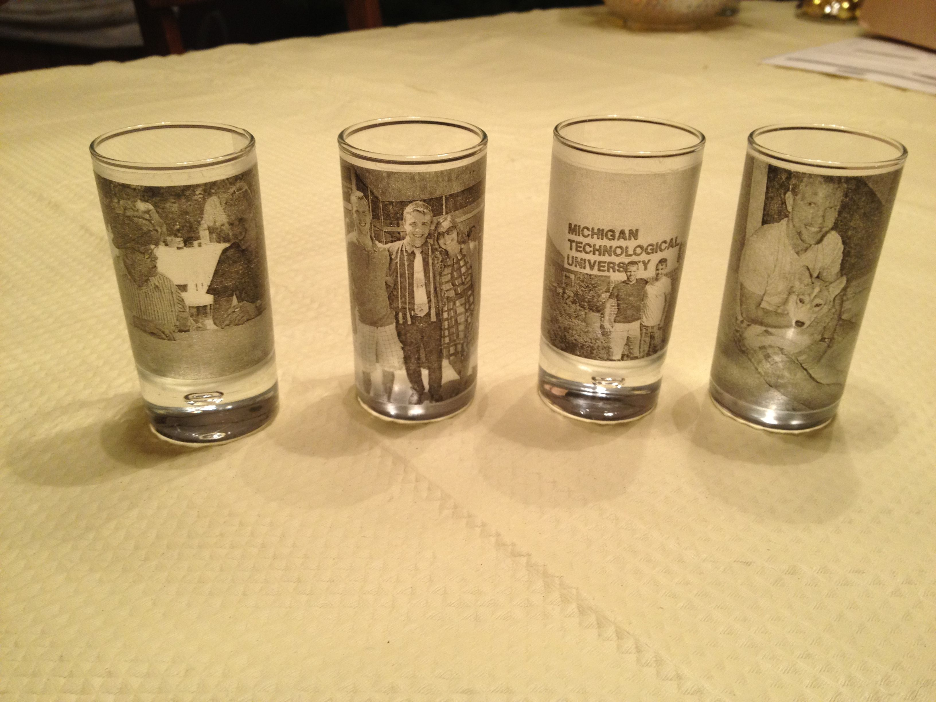 Cute Glassware This Would Be Cute With Candle Votives I Did It
