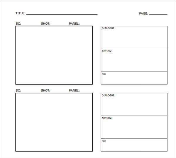 Sample Free Storyboard - 33+ Documents Download in PDF, Word, PPT - sample video storyboard template