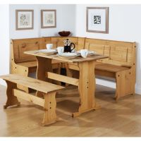 Dining Room Dining Table Set With Bench And Chair The ...