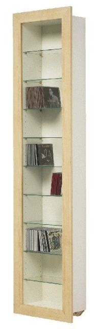 Ikea Bertby Wall Mounted Display Cabinet CD/DVD Storage ...