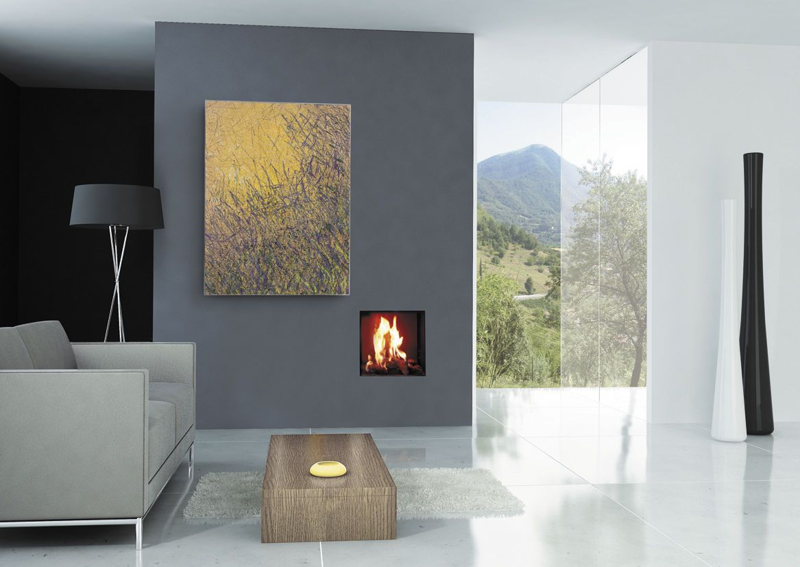 Small Room Gas Fireplace Extra Small Gas Fireplace Insert On Grey Living Room Wall