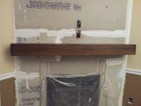 beam fireplace mantels | Custom Barn Beam Fireplace Mantel ...