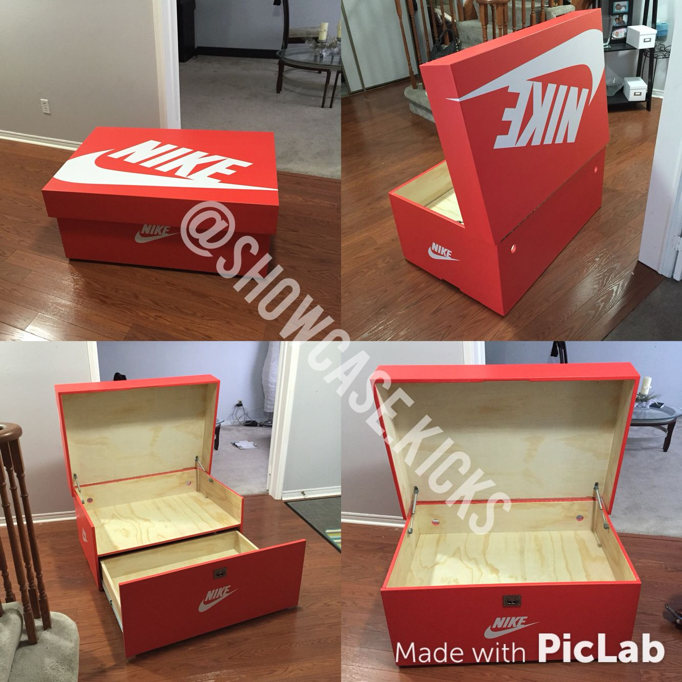 Another Nike Showcase Shoebox Sneaker Storage At Its
